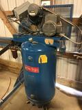 10034- Lemke Air Compressor, Model no. 518V205A, 230v single phase, serial no. 0791802811149BJ