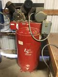 10035- Lemke Air Compressor, Model no. 518V205A, 230v single phase, serial no. 039616529897