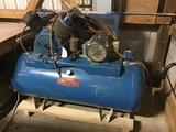 10038- Lemke Air Compressor, Model 10312H40HP, 230v 3 phase, Serial no. R058665953-1692BJ