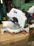 10099- NEW, OMGA Miter Saw, Model No . IL300, 230v single phase, Serial No. 706.203