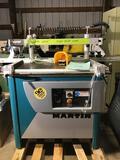 10102- Martin Multiple Boring Machine, Hydraulic Powered, Model TD021, serial no. 3170M000108178
