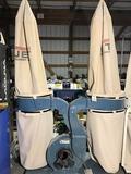10170- Jet 2 Bag Dust collector, DC-1900, 230v 3 phase, SN31018070