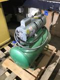 10183- Speedaire Pin Router Vacuum Pump, model 127176, 230v single phase, SN 90662381