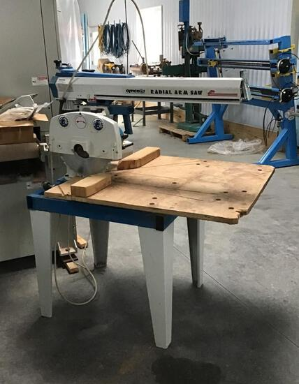 OMGA RADIAL ARM SAW 3 PH 460V