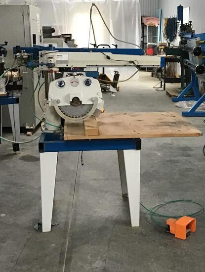 OMGA RADICAL ARM SAW 3 PH 460V