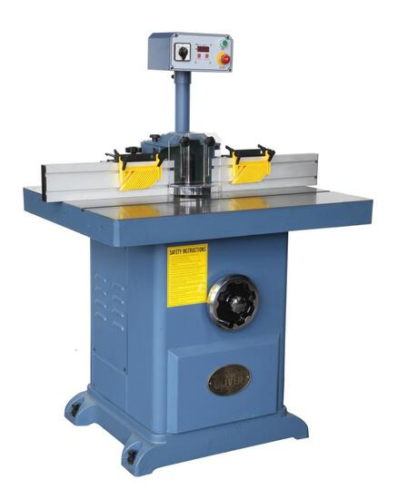 NEW- OLIVER 1-1/4'' SHAPER WITH DIGITAL READ OUT 230V 3-PHASE
