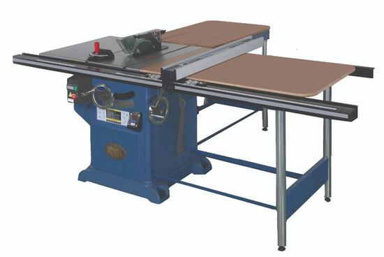 NEW- OLIVER 4016 10'' TABLE SAW W/52'' TABLE, 230V 3-PHASE