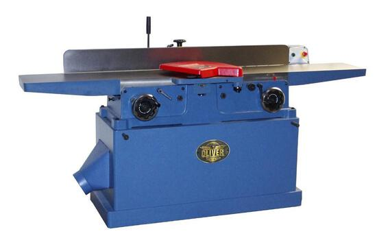 NEW- OLIVER 4260 12'' PARALLELOGRAM JOINTER W/SPIRAL CUTTER HEAD 230V 3-PHASE