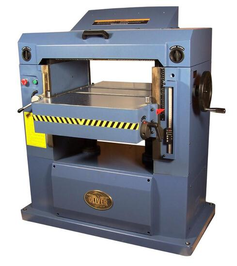 NEW- OLIVER 4455 22'' PLANER 220V 3-PHASE..W/BYRD CUTTER HEAD