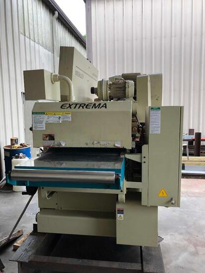 EXTREMA MAGNUM (XP) 24'' DOUBLE SIDED PLANER, 480V 3-PHASE