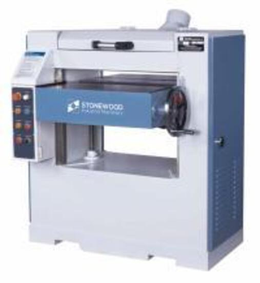 NEW- STONEWOOD STC-760MH 30'' PLANER SPIRAL HEAD, 230V 3-PH W/DIGITAL READOUT