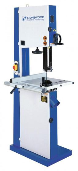 NEW- STONEWOOD SBW4300A 17'' BAND SAW W/LASER GUIDE, 220V 1-PH