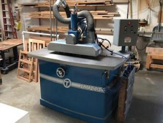 CIRCLE T 213 LOCK MITER MACHINE, HYD POWERED