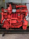 Waukasha F18GLD natural gas engine, 400 hp, 10,000 hrs, electronic controls, includes exhaust pipe &