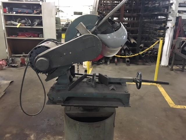 Enco 3 phase cutoff saw