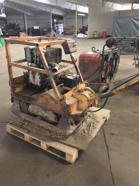 Case Vibro-Max rammer plate compactor (ground pounder)