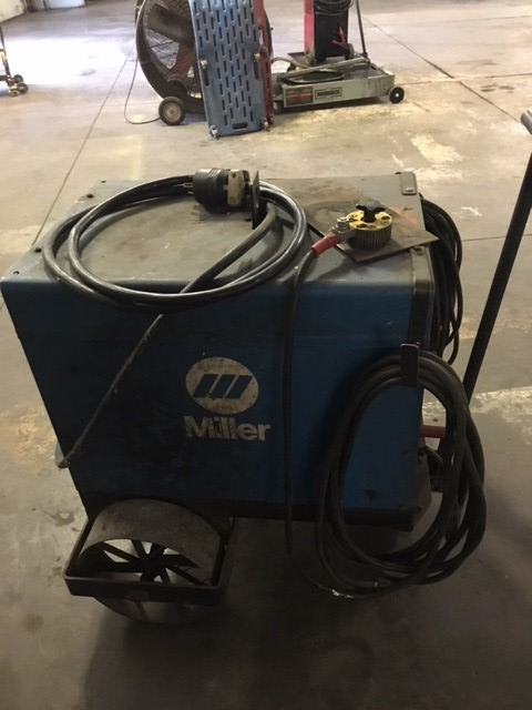 Miller Dial Ark 250, AC/DC arc welder