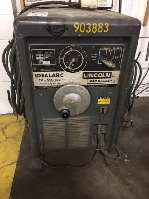 Lincoln Idealark AC/DC welder, TM-300/300