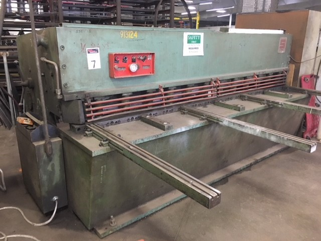 Summit 10x1/4 shearer, 3 phase, 240 V