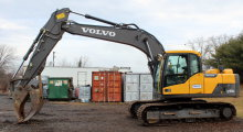 2014 Volvo EC160DL Hydraulic Excavator
