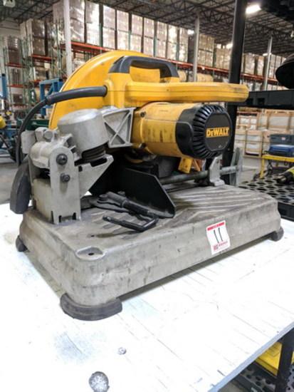 DeWalt 14 Inch Chop Saw, Model: D28715, 120V, 15A, 50/60HZ, 4000 RPM, 1 Inc