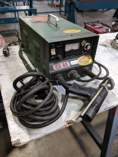 Midwest Fasteners Inc. CD80 Stud Welding System, 15V, 25A, 60HZ, 1PH, S/N: