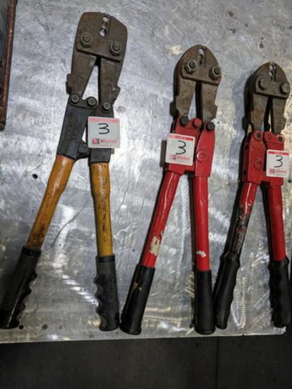 (3) Nicopress Swaging Tools