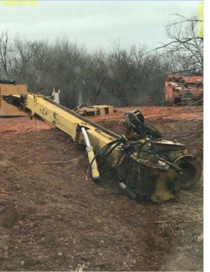 Insurance Claim: 2010 IMT AF160C Drilling Rig