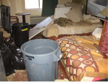 Insurance Claim: Damaged Hotel Contents
