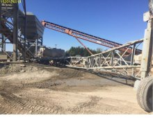 Insurance Claim: 2001 Belgrade Concrete Conveyor