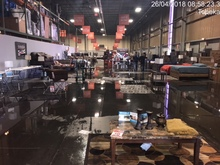Insurance Claim: Flooded Furniture Warehouse