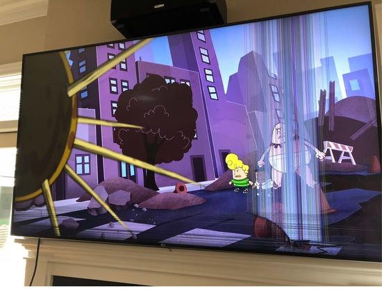 Insurance Claim: 2017 LG 75 inch 4K Smart LED TV