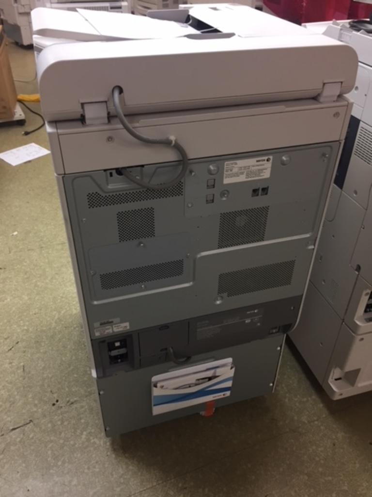 Insurance Claim: Two Xerox Copy Machines