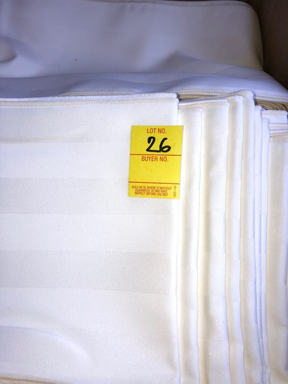 BOX OF 250 IVY IMPERIAL STRIPE SASH
