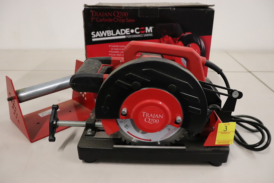 "Trajan Q700 7"" Carbide Chop Saw"