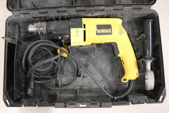 Dewalt DW505 VSR Hammer Drill