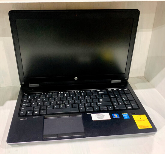 HP ZBook Core i7 (No Power Supply)