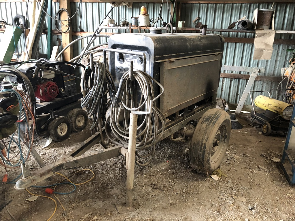 Lincoln Sa200 Welder On Wheels Auctions Online Proxibid Sa 200