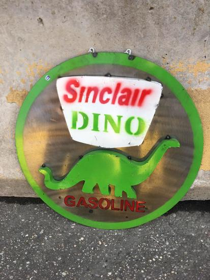 Sinclair Dino Gasoline Sign
