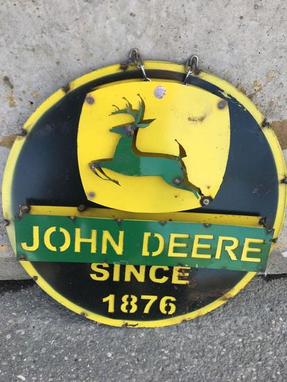 """John Deer Since 1876"" Sign"