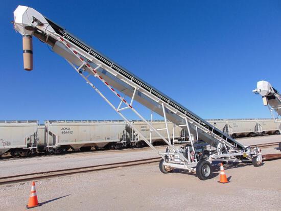2016 S&A MFG TL11.5-20 Trans Loader. s/n 005, deutz diesel eng, beltway scales, hour meter reads