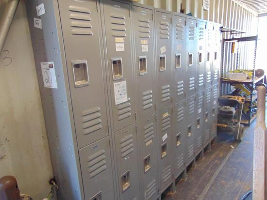 Lockers, 9' long, Located in Thomas Ok