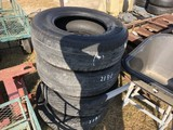 (4) USED TIRES
