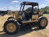 CAT TH-62 SHOOTING BOOM FORKLIFT