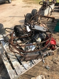 PALLET OF HYDRAULICS AND HOSES