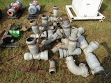 (12) IRRIGATION FITTING TEES & ELBOWS ACC.