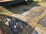 (3) 14 GAUGE STEEL SHEETS 12'X52