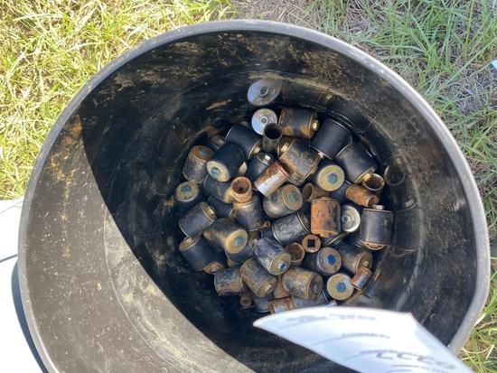 Bucket Of Rubber Plugs