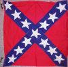 Antique Confederate Civil War Battle Flag