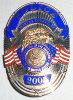 -Rare- 2005 -President George W. Bush- Inauguration Badge - Fairfax County, VA Police